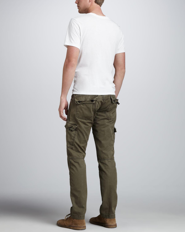 J brand Trooper Hidden Forest Cargo Pants in Green for Men | Lyst