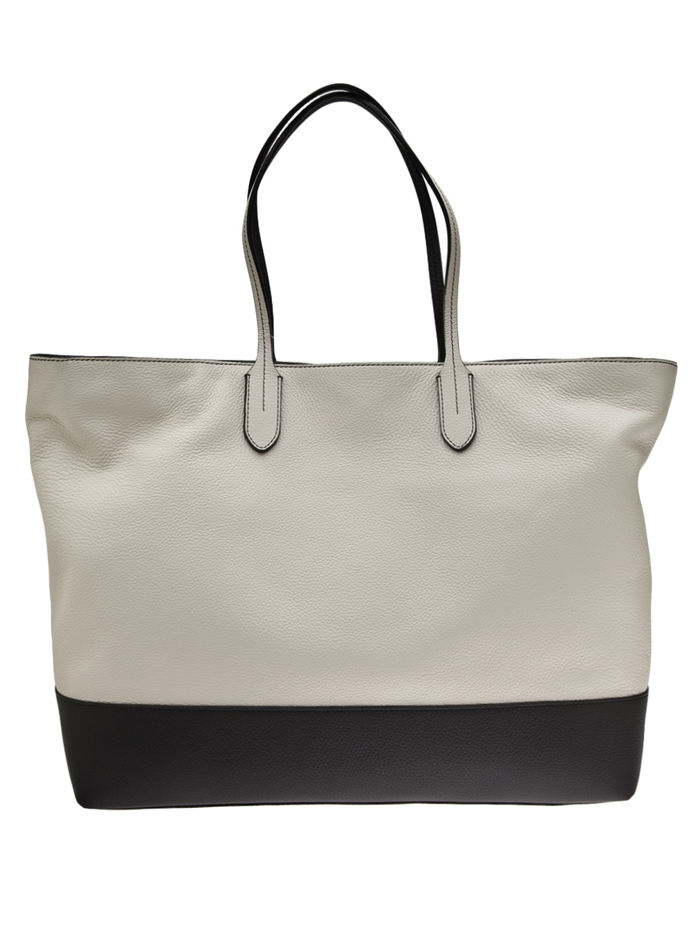 Boutique Moschino Tote Bag in White (Grey)