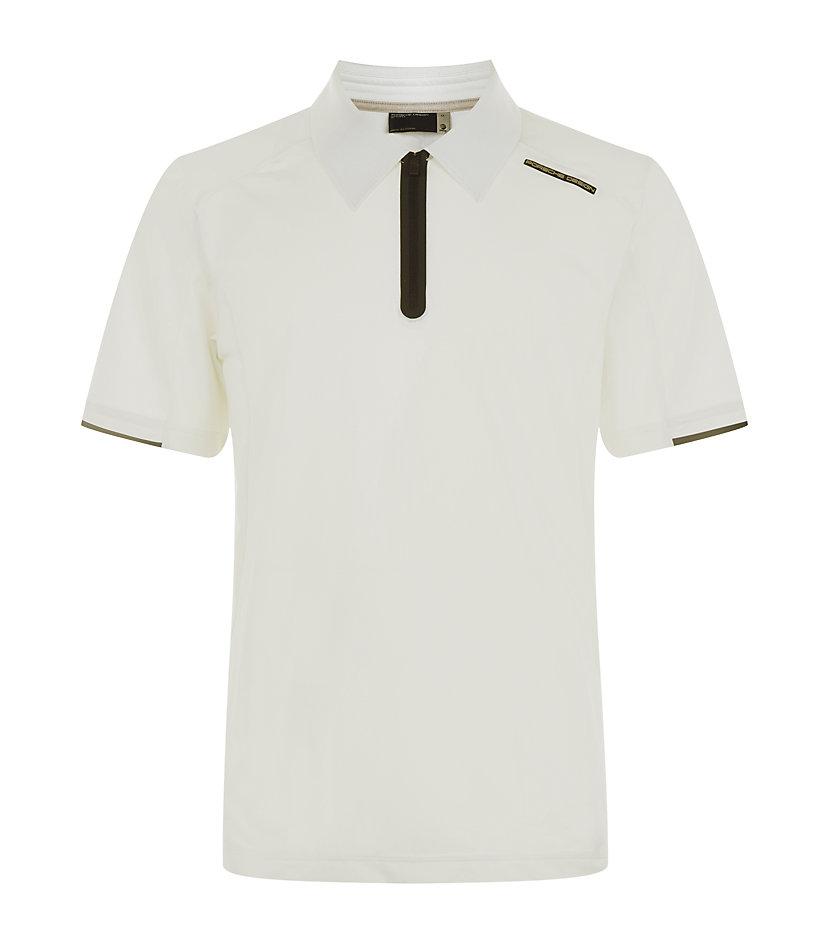 Porsche Design Tech Polo Shirt In White For Men Lyst