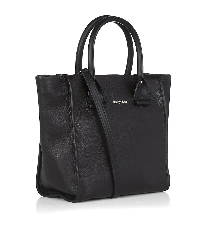 See By Chloé Small April Tote in Black
