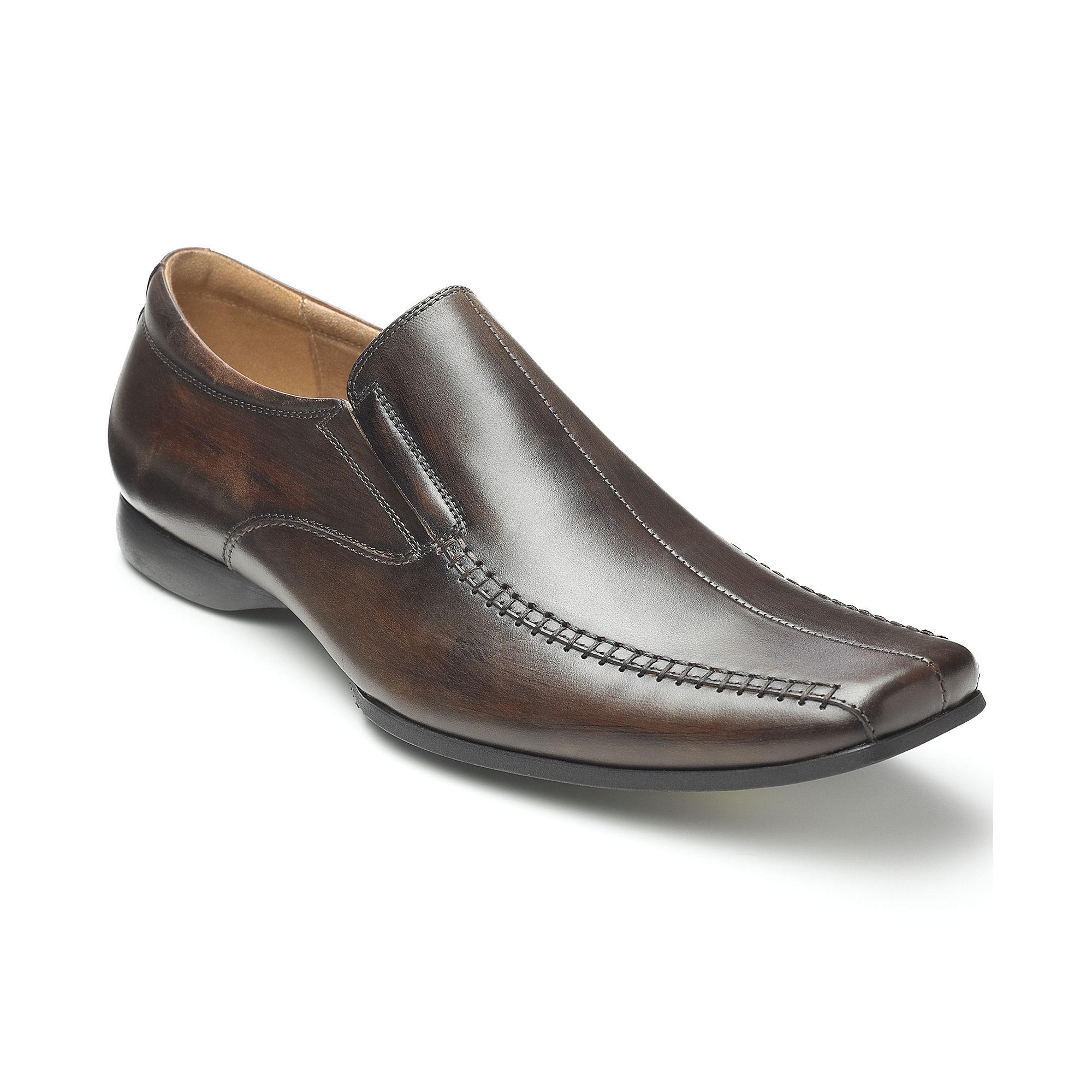 Steve Madden Carano Slipon Dress Shoes in Black for Men