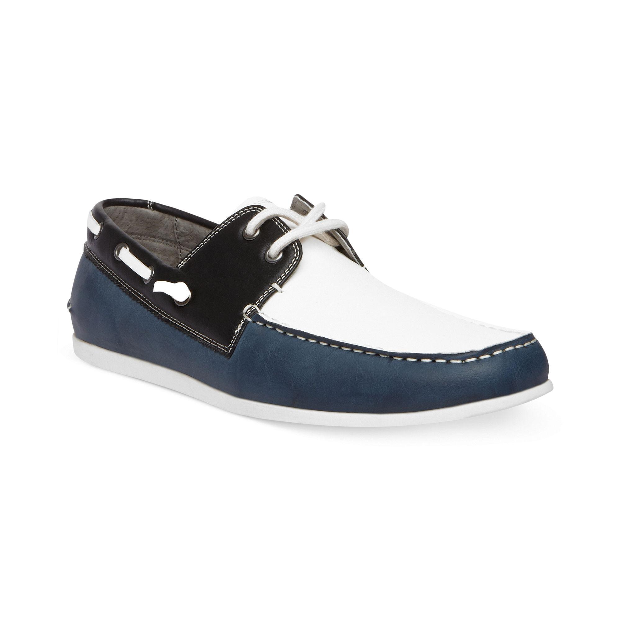 974d78436e8 Steve Madden Blue Gamer Boat Shoes for men