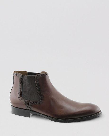 johnston murphy johnston murphy tyndall chelsea boots in