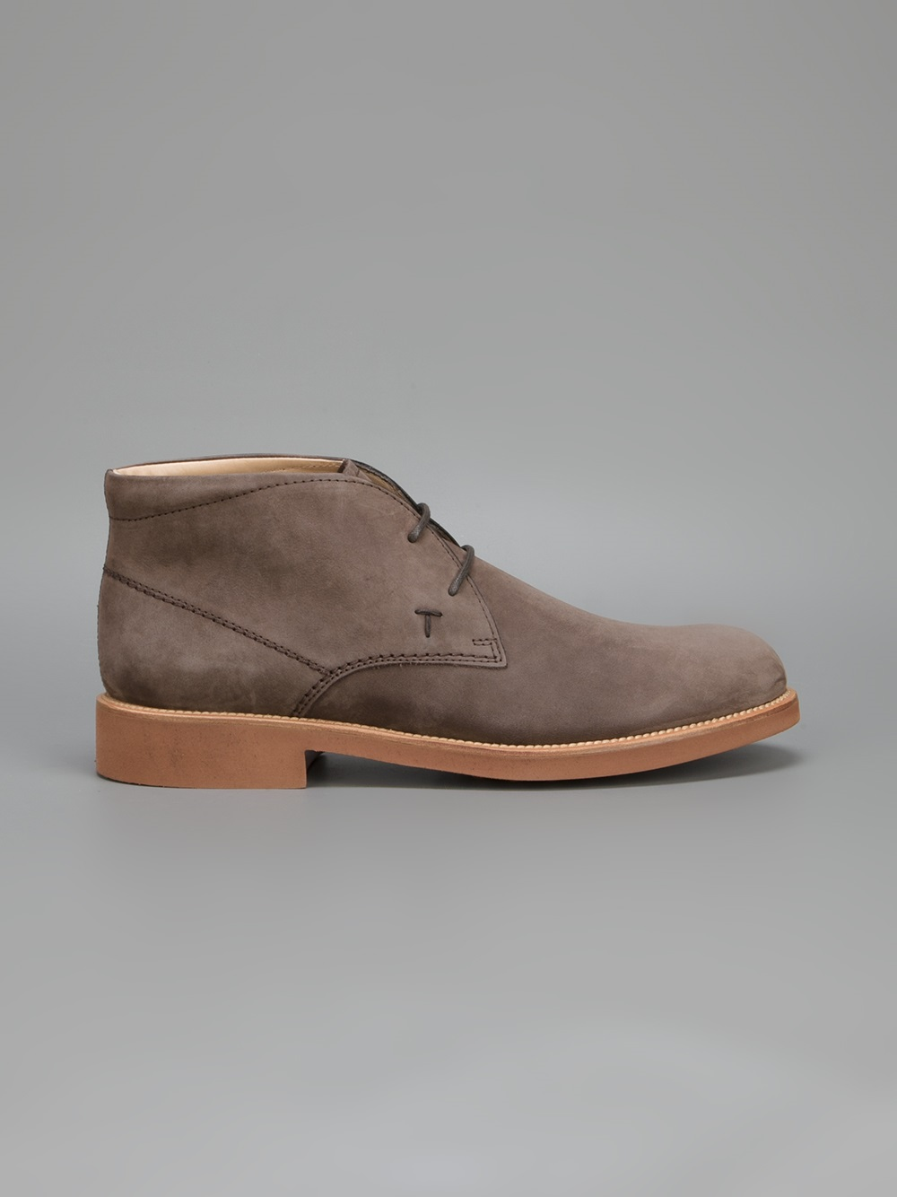 tod 39 s classic desert boot in brown for men lyst. Black Bedroom Furniture Sets. Home Design Ideas