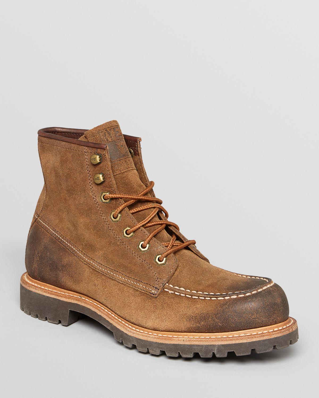 Frye Dakota Mid Nubuck Boots In Brown For Men Lyst