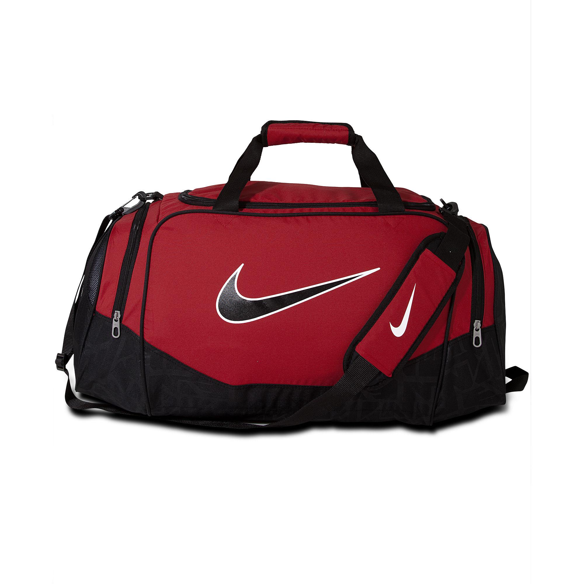 Nike Brasilia 6 Medium Duffle Bag, Black at John Lewis ... |Nike Dry Bag