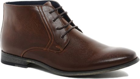 river island formal boots in brown for men  lyst
