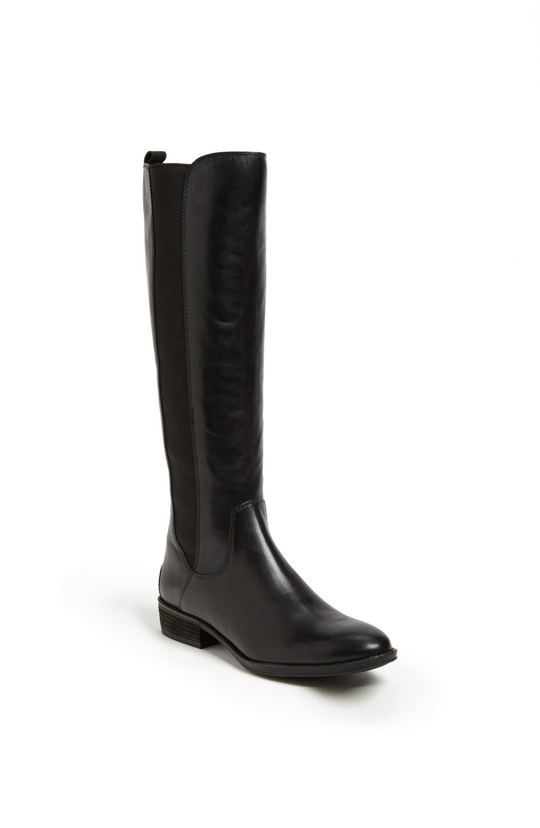sam edelman paradox boot in black black leather lyst