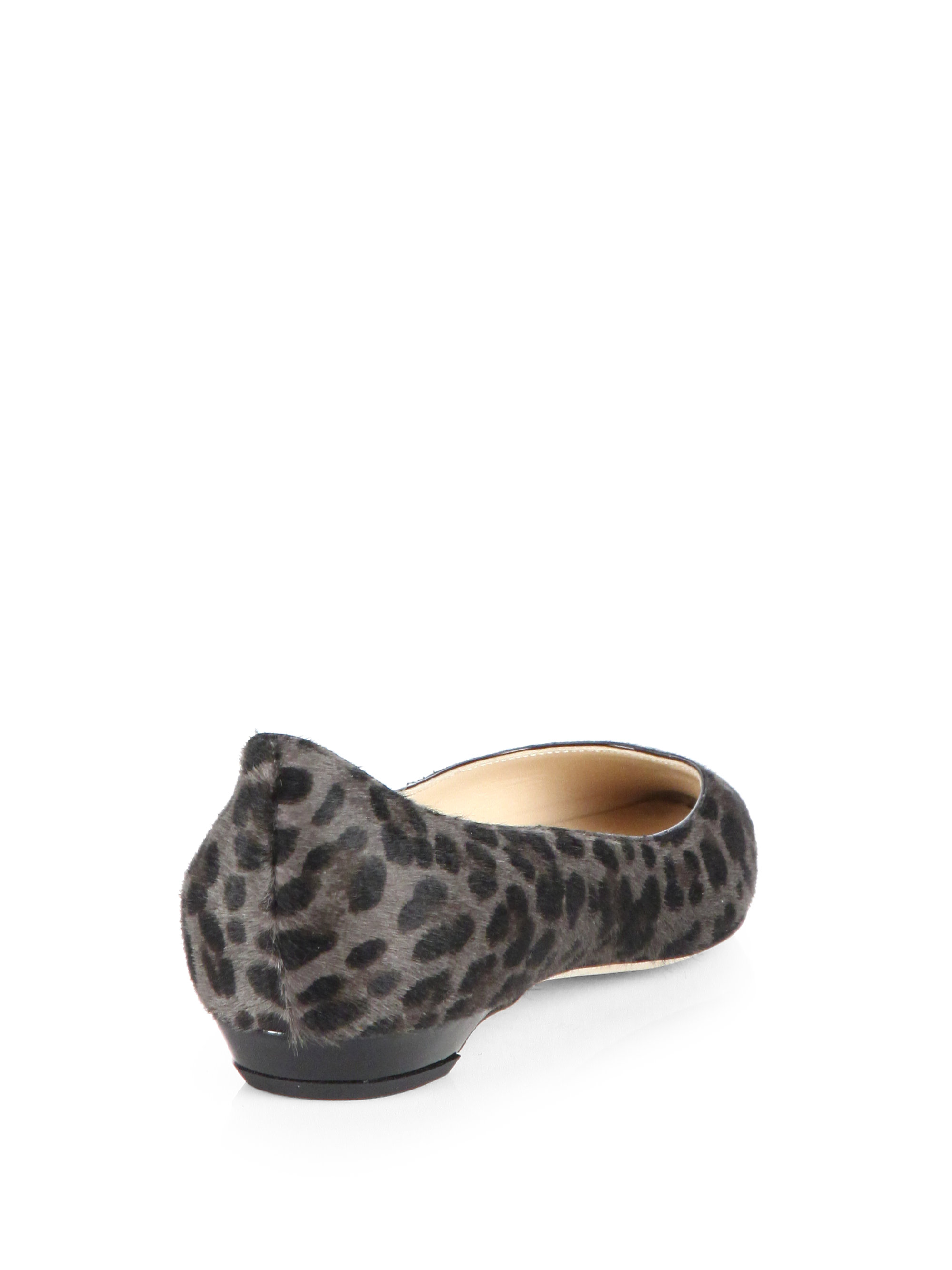 Jimmy Choo Ponyhair Square-Toe Loafers big discount sale online G6J9ld