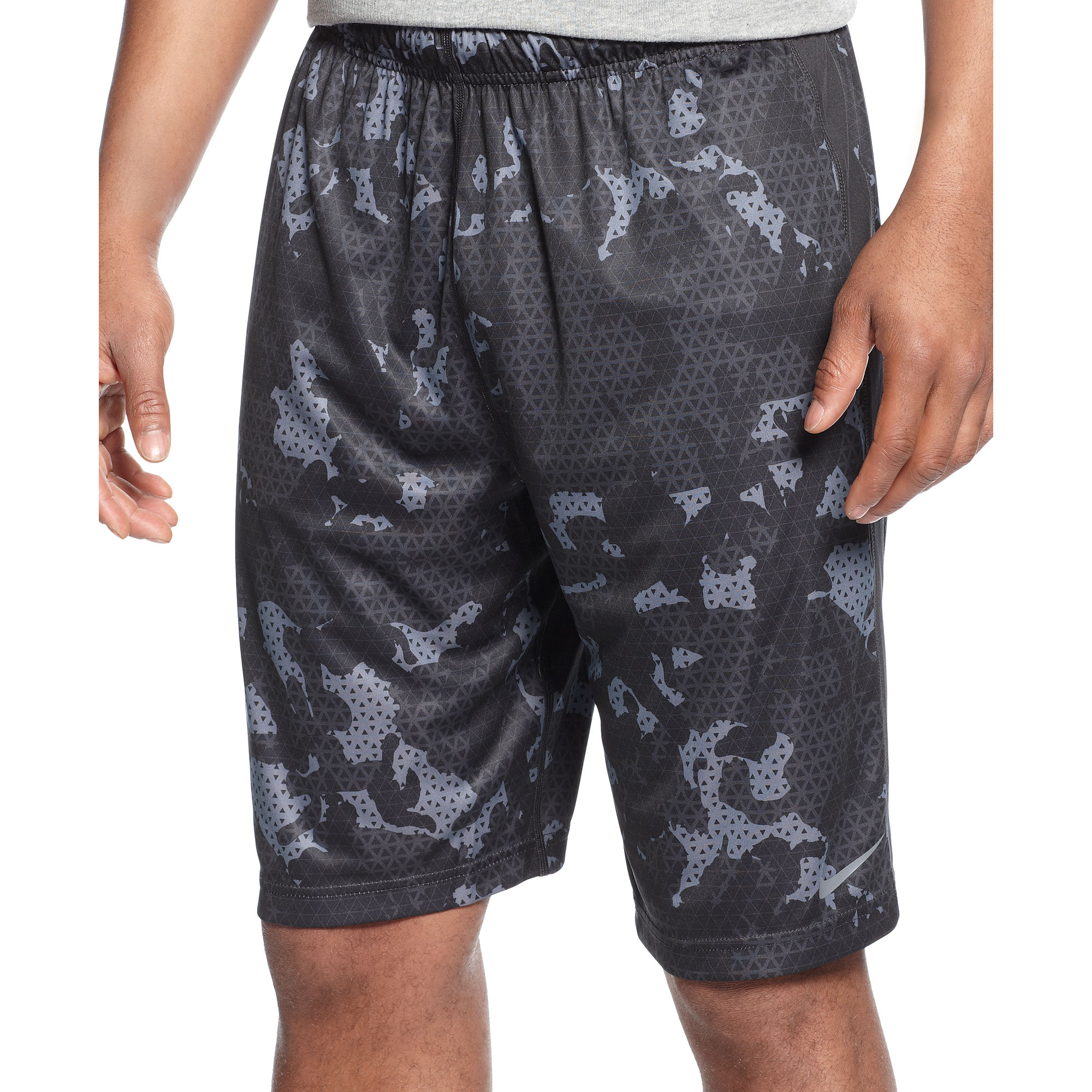 Lyst - Nike Fly Doomsday Camo Shorts in Blue for Men fdc078e68