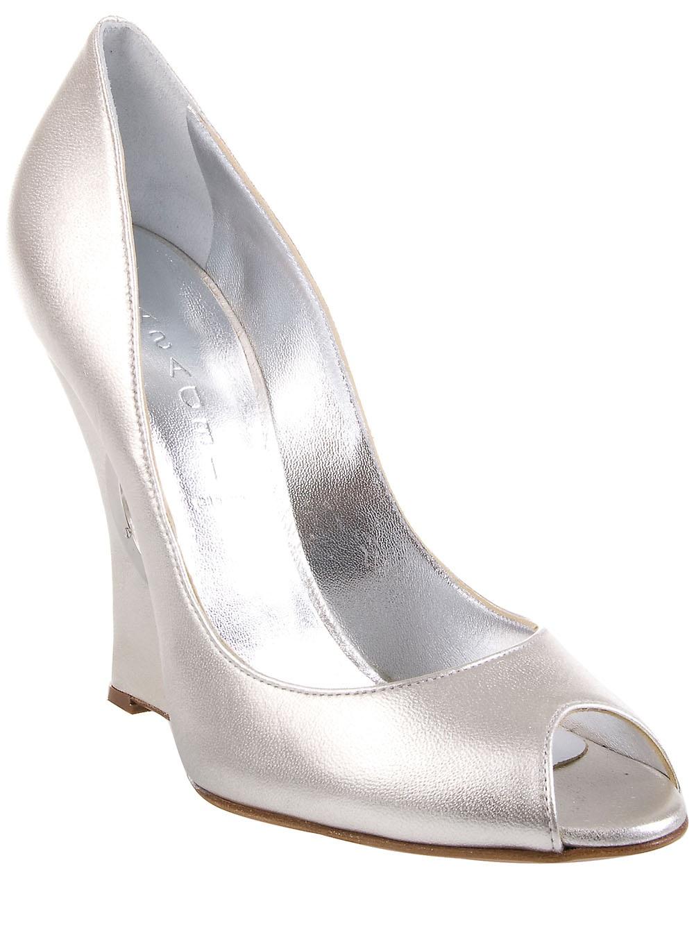 Silver Shoes High Heels Selfridges