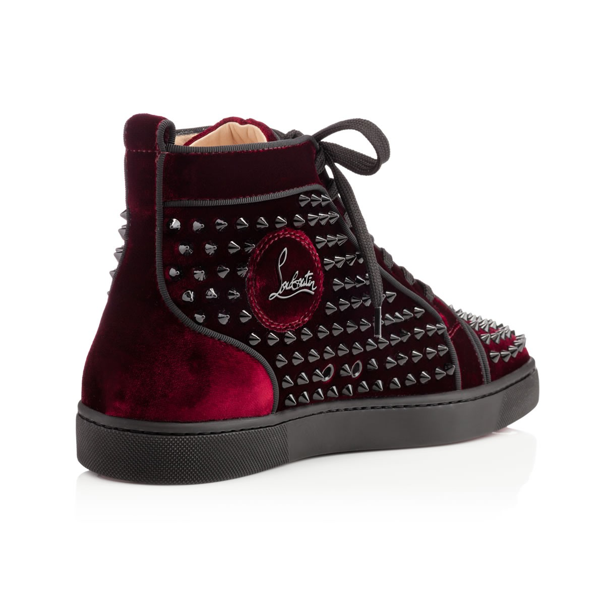 59180099c98f Lyst - Christian Louboutin Louis Orlato Mens Spikes in Red for Men