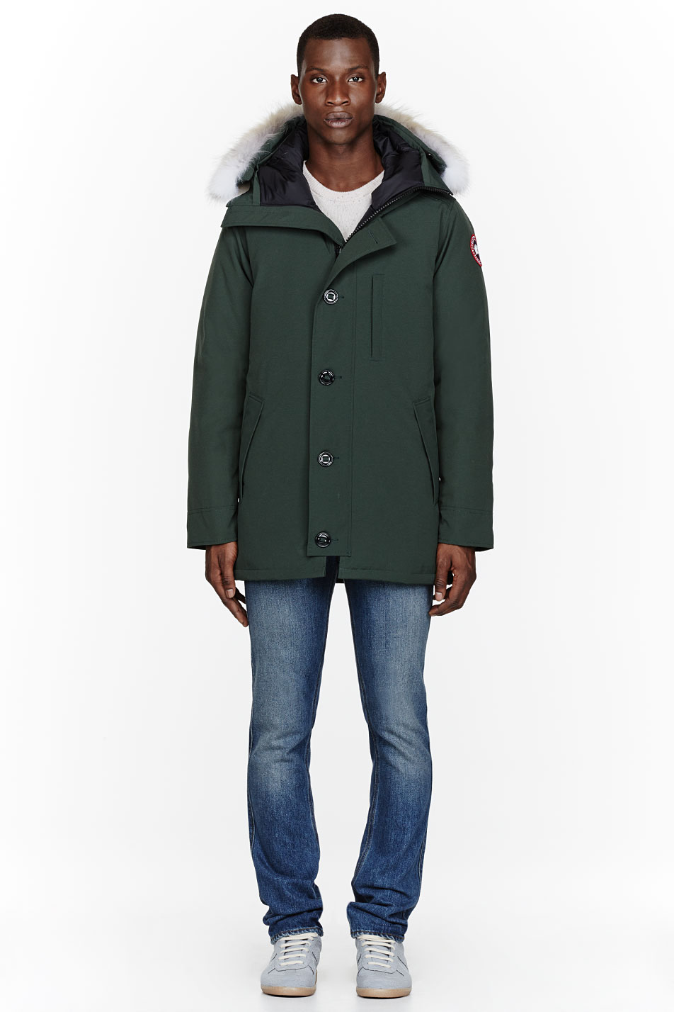 Canada goose Forest Green Chateau Parka in Green for Men | Lyst
