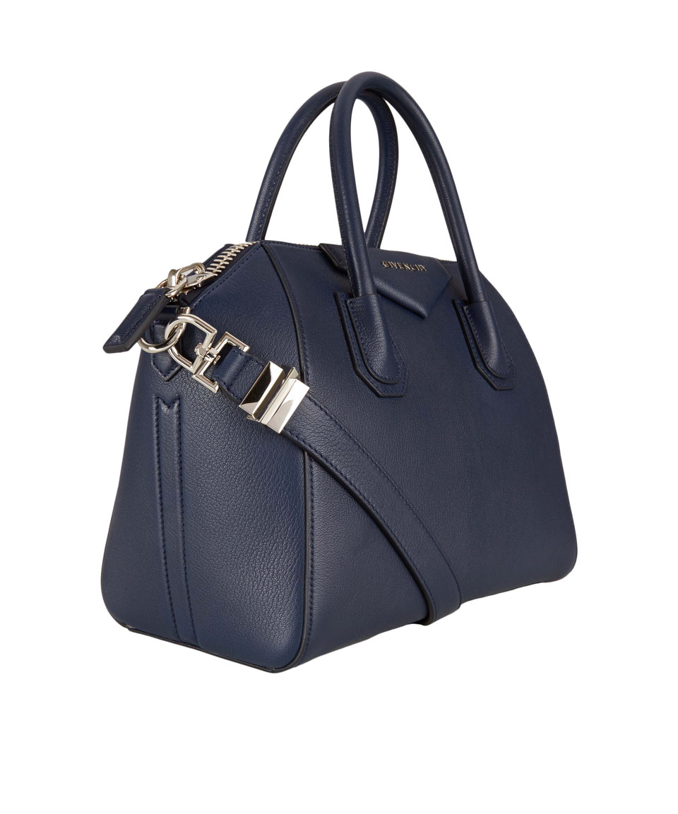 61c09b4c2204 Lyst givenchy small navy antigona textured leather bag in blue jpg 960x1153 Givenchy  navy antigona
