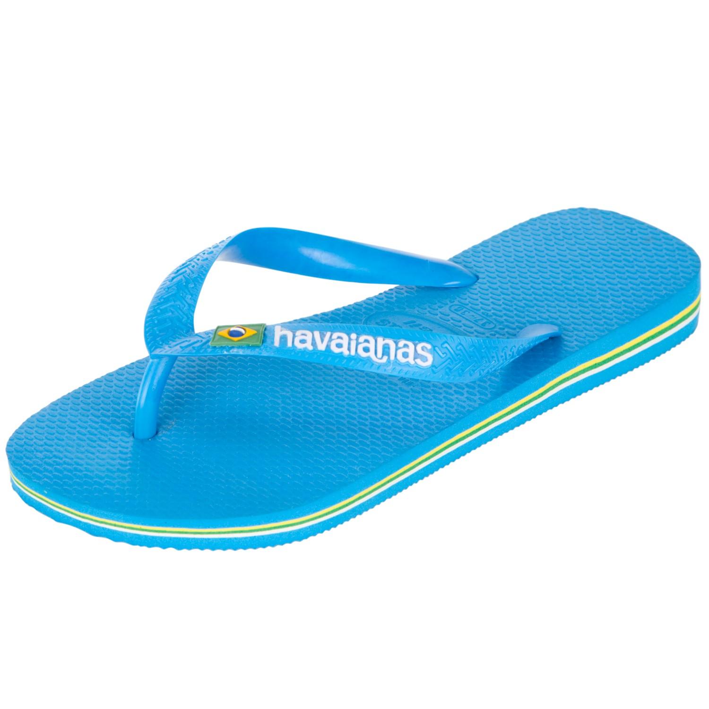 25c93618837f2 Havaianas Havaianas Brasil Flip Flops Sky in Blue for Men - Lyst