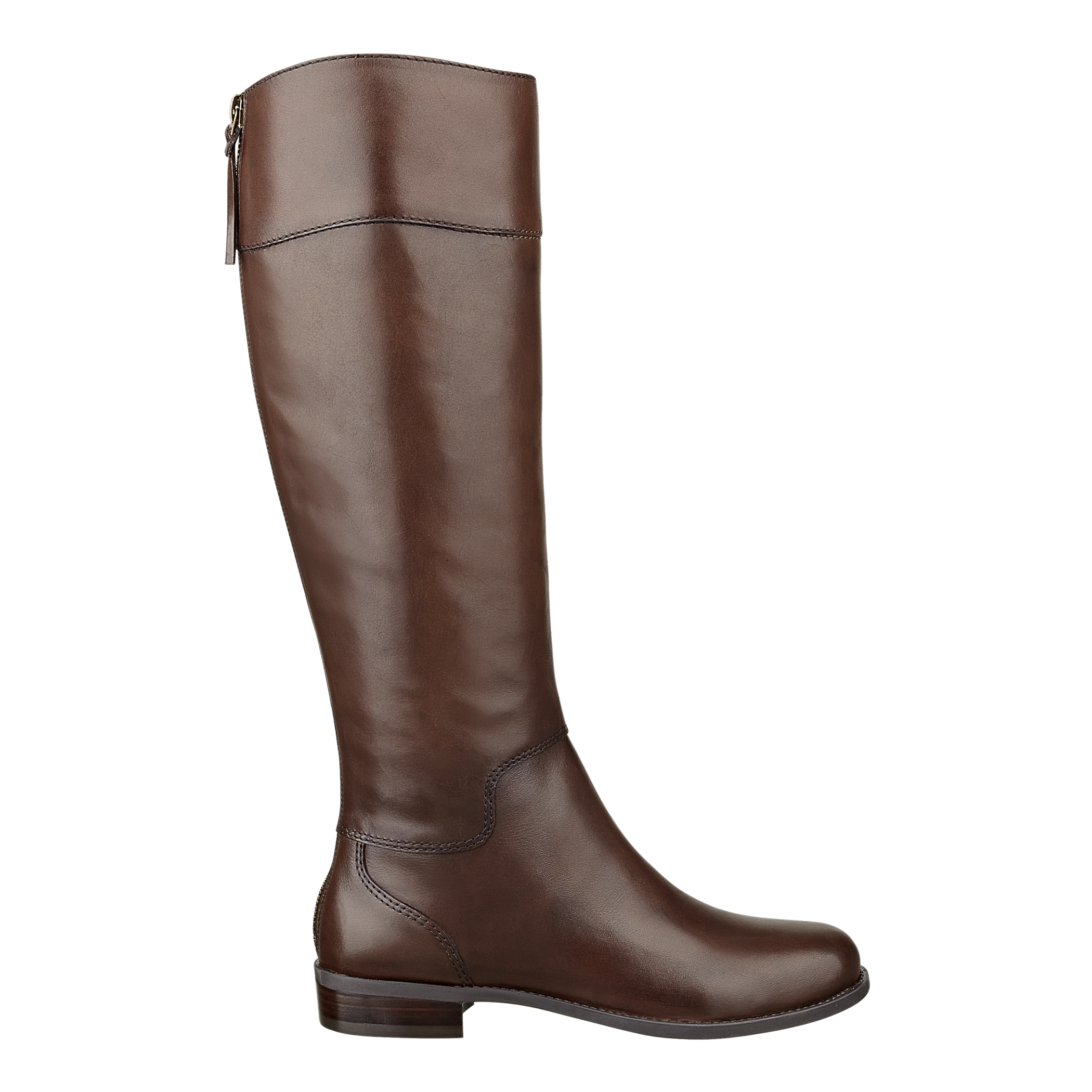 nine west counter boot in brown brown leather lyst