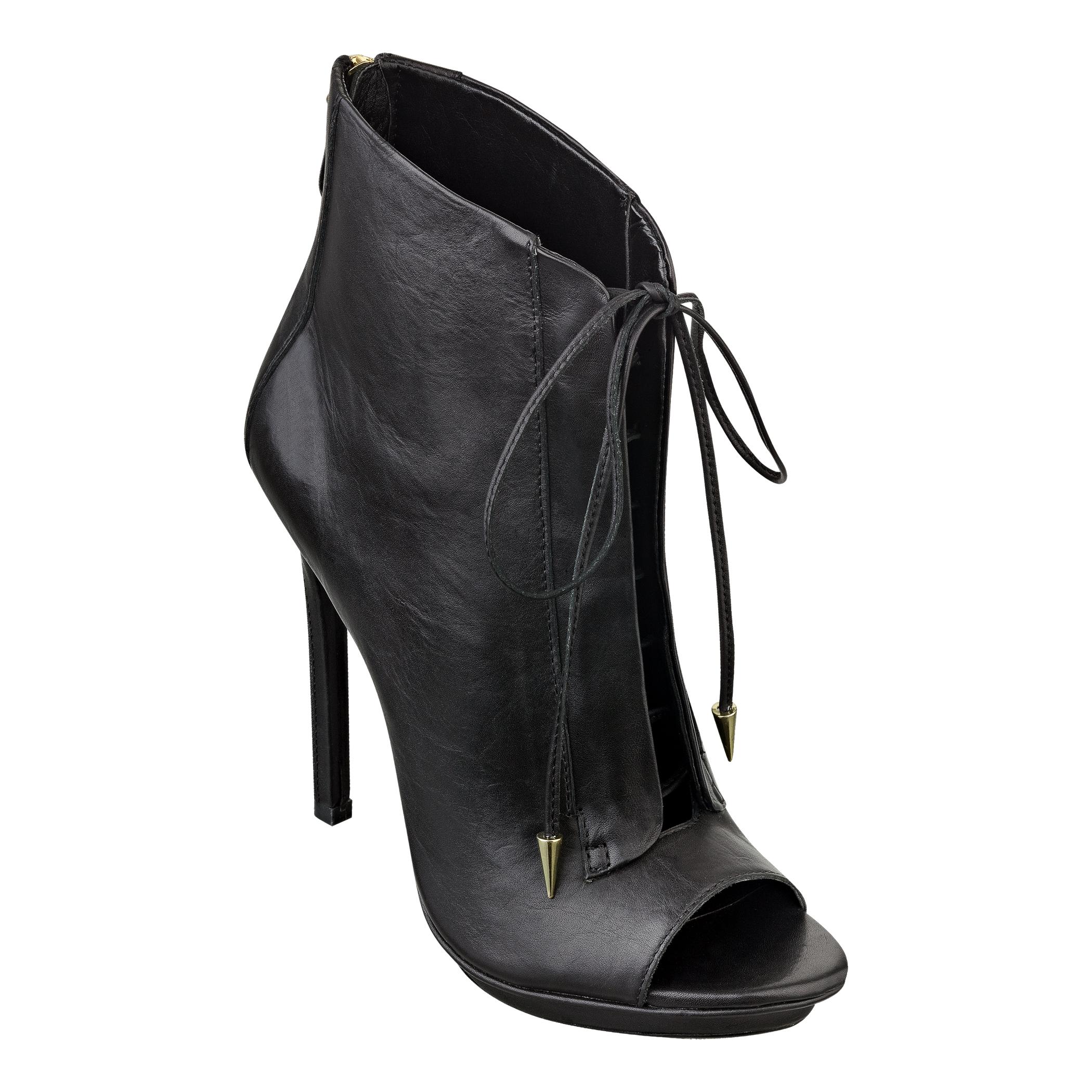 Nine West Orrino Bootie in Black (BLACK LEATHER)   Lyst