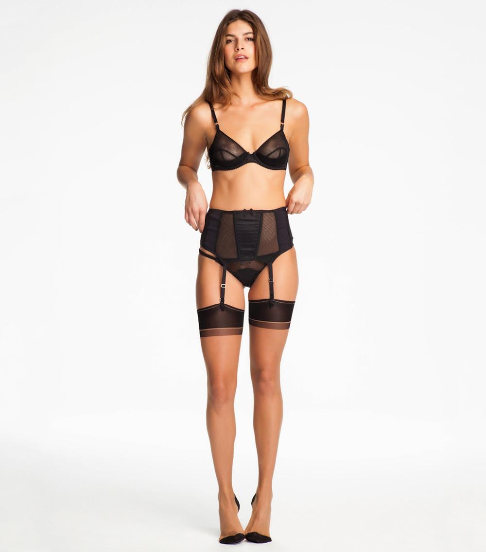 Seamed Stockings Nude 81