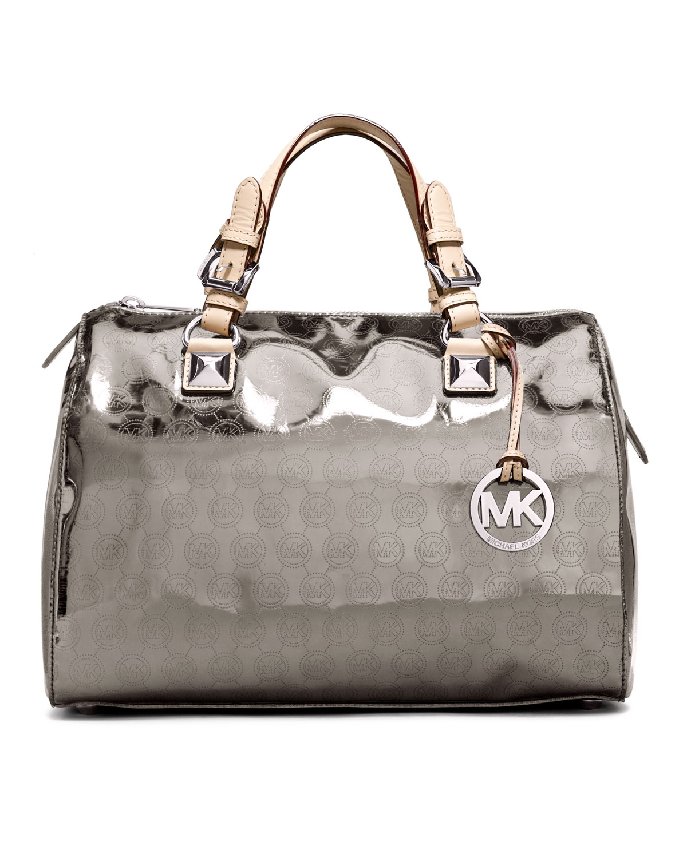 5bccf934214a Michael Kors Handbags Grayson Nickel - Foto Handbag All Collections ...