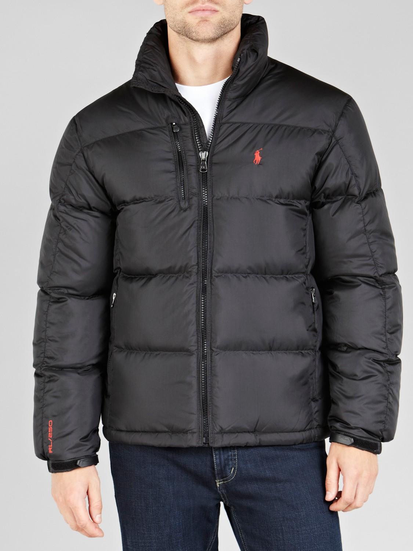 Jacket Lauren Polo Black For Rl250 Ralph Puffer Men 9HWED2I