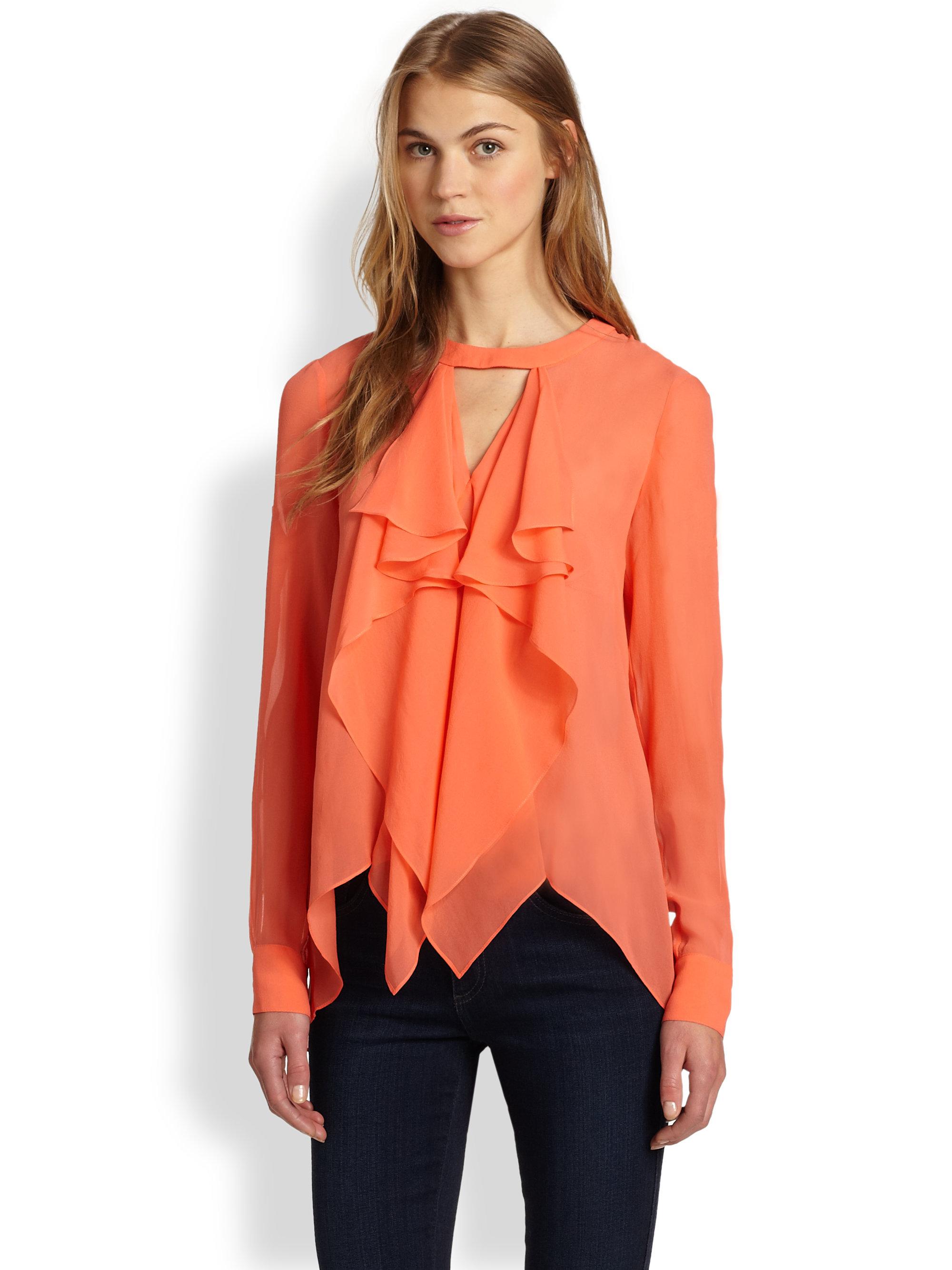 Black Ruffle Sleeve Shirt - AX Paris