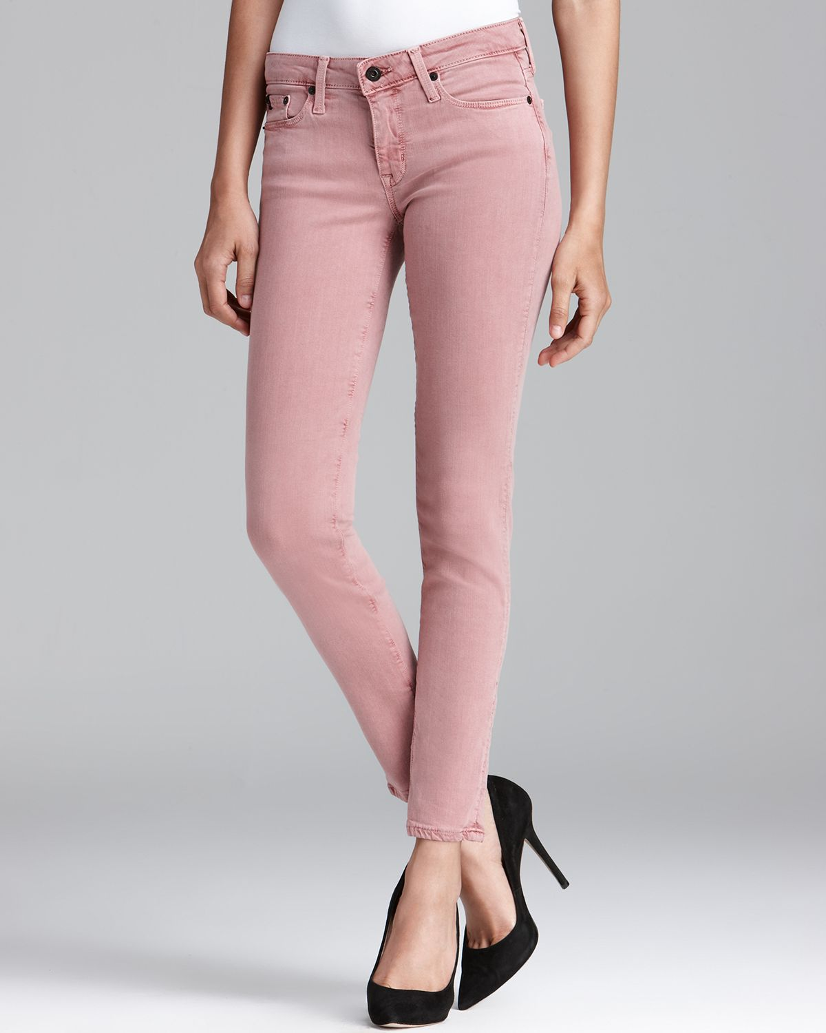 facee3d5fa8 Lyst - Big Star Jeans Alex Skinny in Rose in Pink