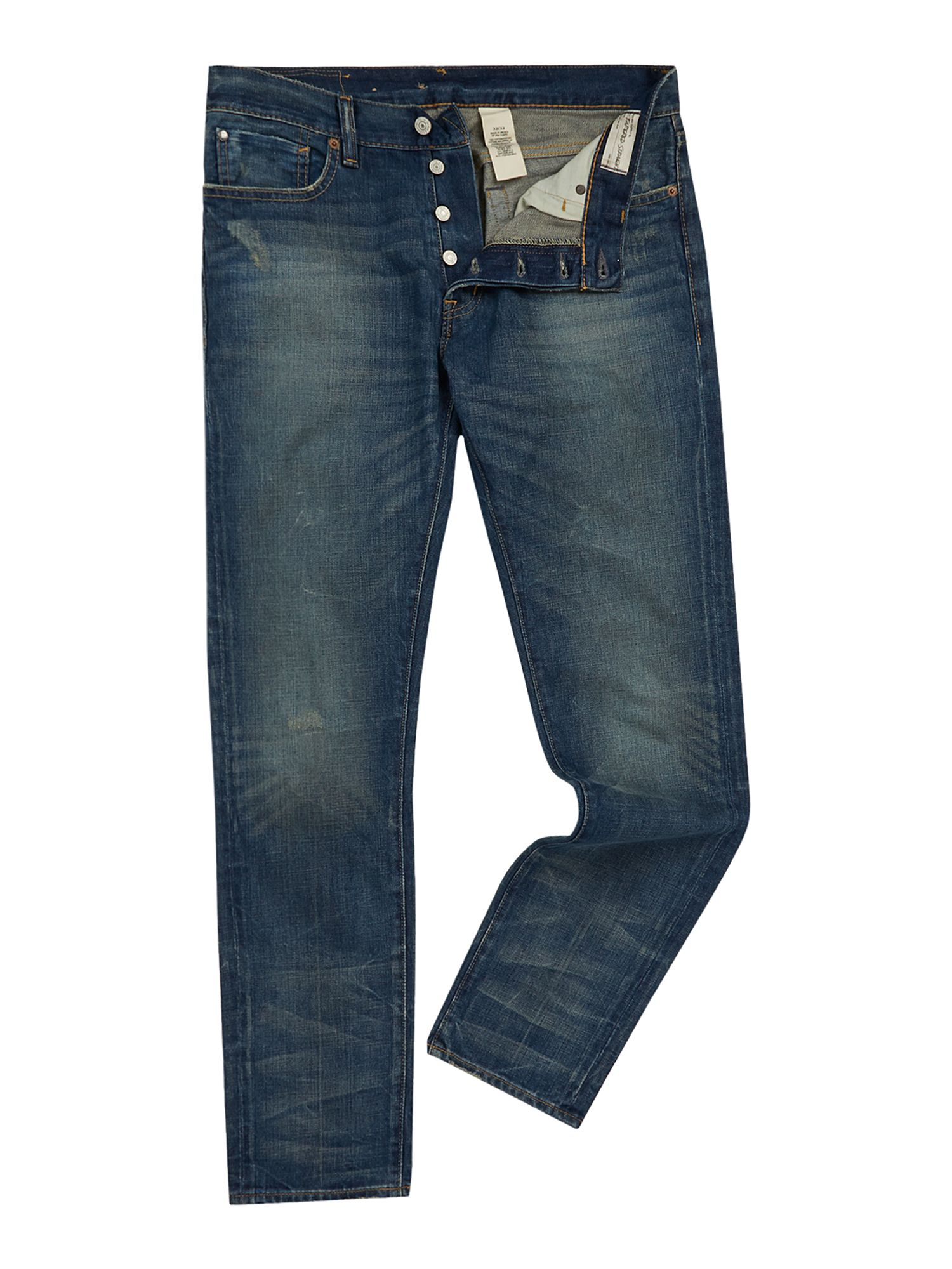 denim supply ralph lauren traverse jean in blue for men. Black Bedroom Furniture Sets. Home Design Ideas