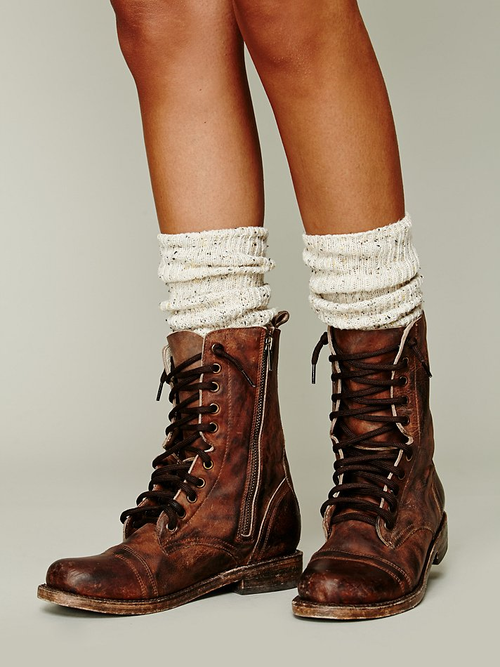Freebird By Steven Fletch Lace Up Boot In Brown Lyst