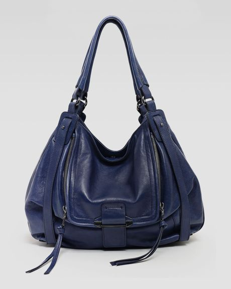 Kooba Jonnie Hobo Bag Navy in Blue (NAVY) - Lyst