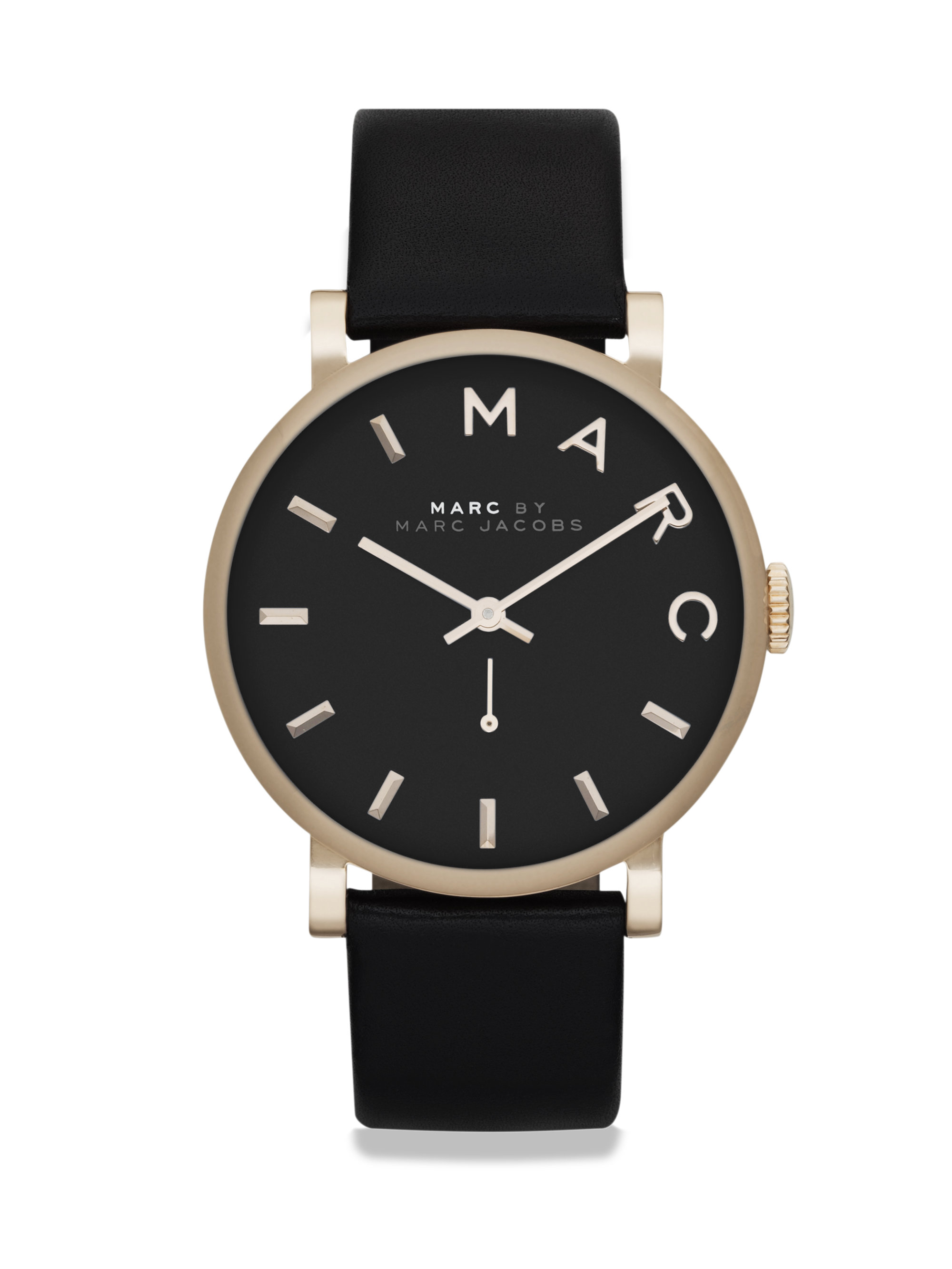 lyst marc by marc jacobs baker goldtone stainless steel