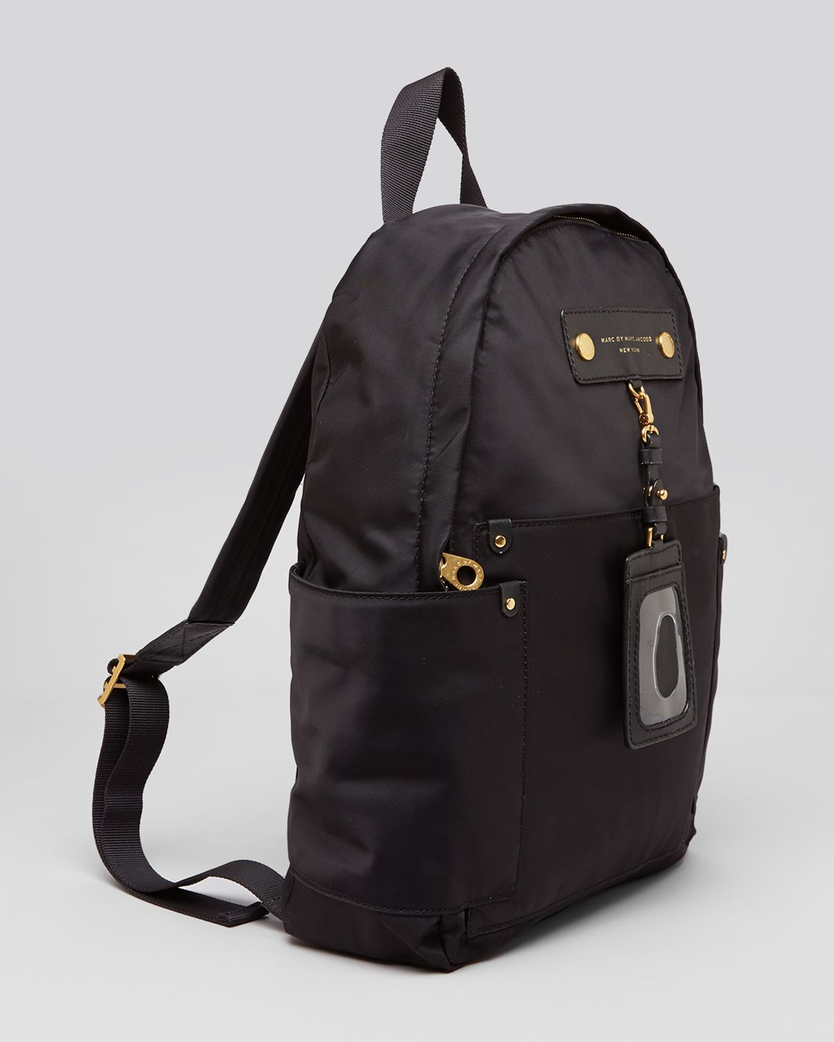 marc by marc jacobs backpack preppy nylon in black lyst. Black Bedroom Furniture Sets. Home Design Ideas