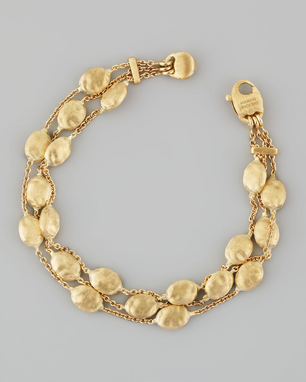 Marco Bicego Siviglia 18k Gold 3 Strand Bracelet In