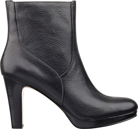 Nine West Pook Bootie in Black (BLACK LEATHER)