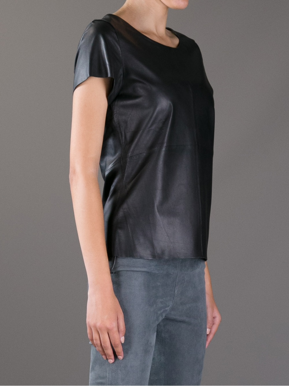 Find great deals on eBay for leather sleeve t shirt. Shop with confidence.
