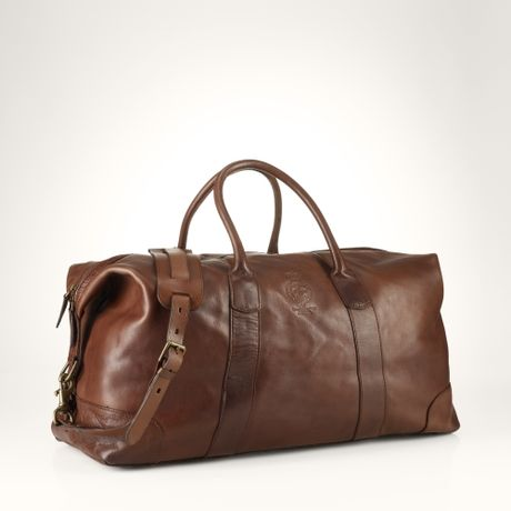 leather weekend bags for men -#main