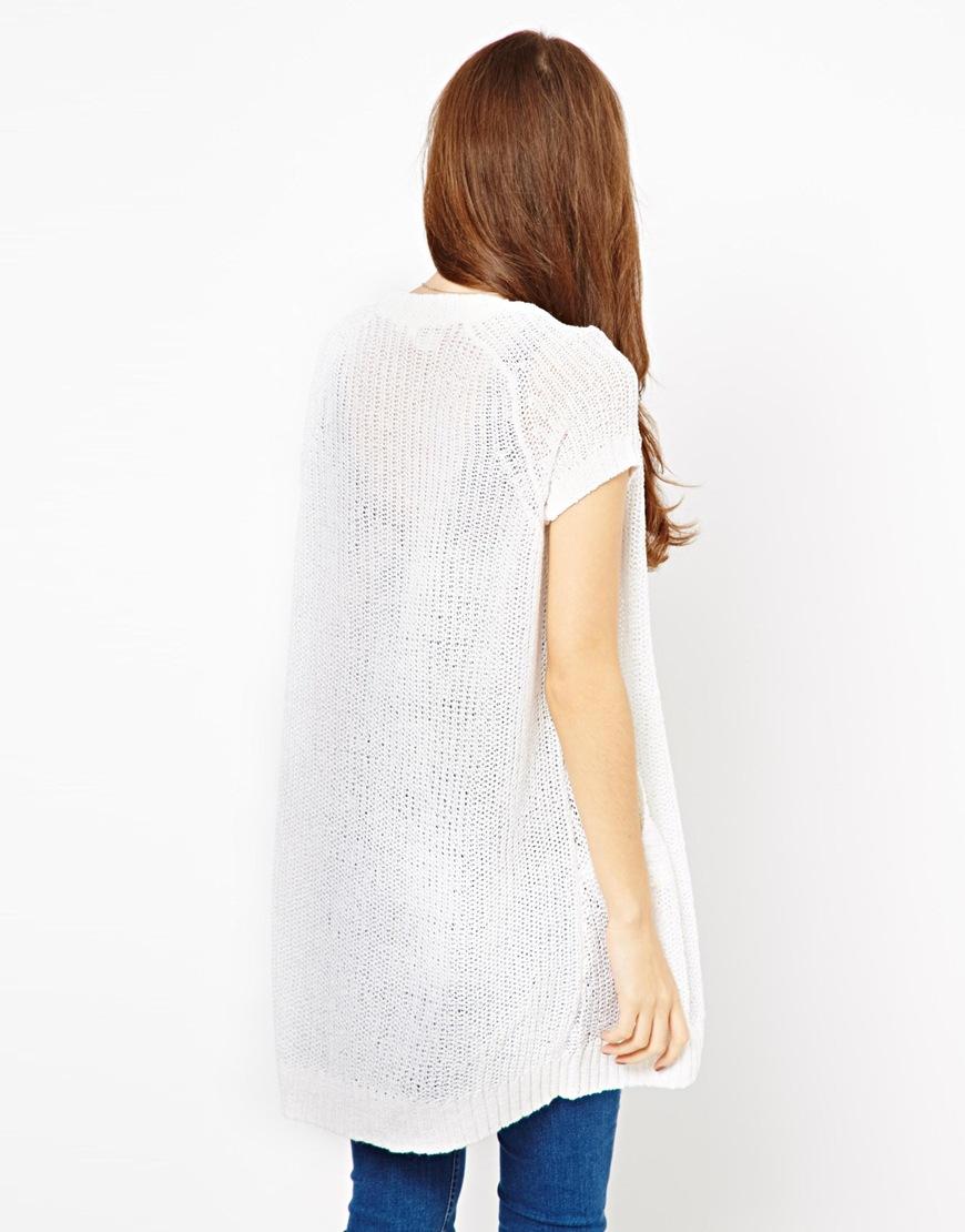100  [ Short Sleeve Cardigan ] | Womens Cardigan Knitting Pattern ...