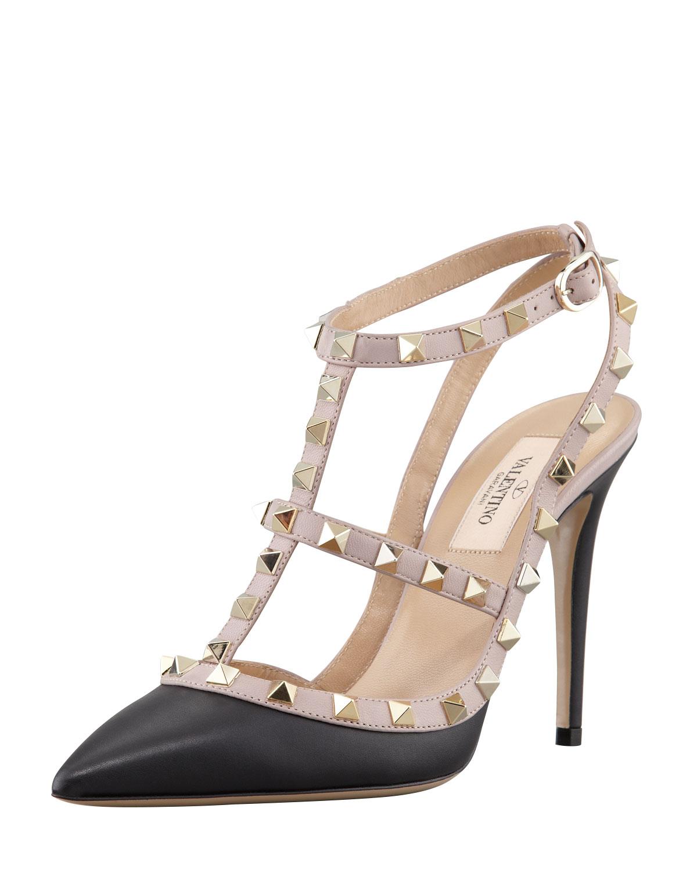 matte black valentino heels promo code