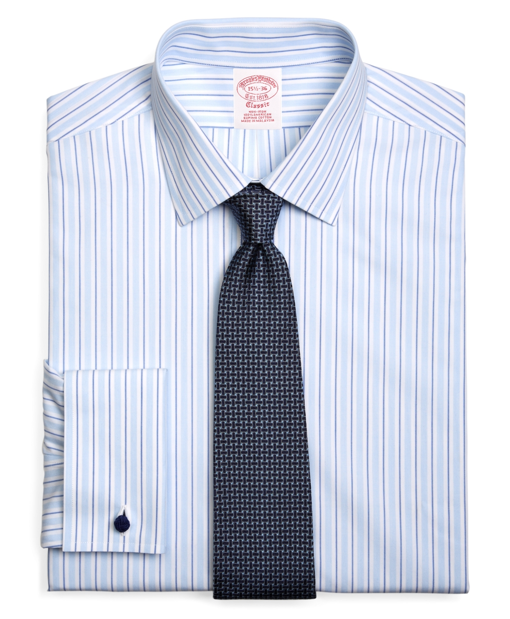 Brooks brothers supima cotton noniron traditional fit for Supima cotton dress shirts