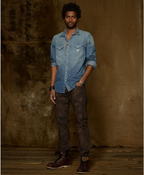 The First Shop of The World Denim & Supply of Ralph Lauren: The Casual Vintage