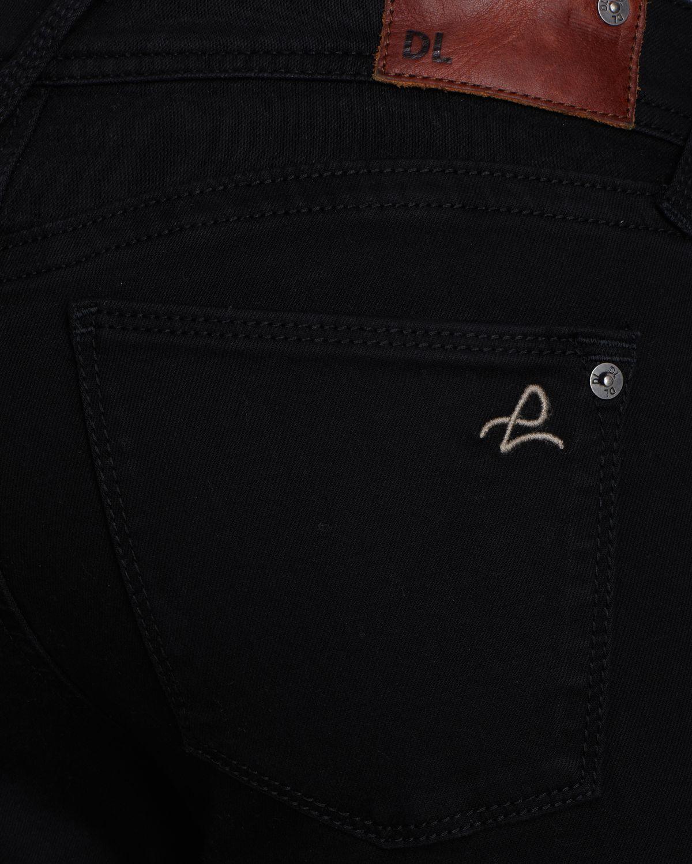 DL1961 Jeans Amanda Skinny in Rapture in Black