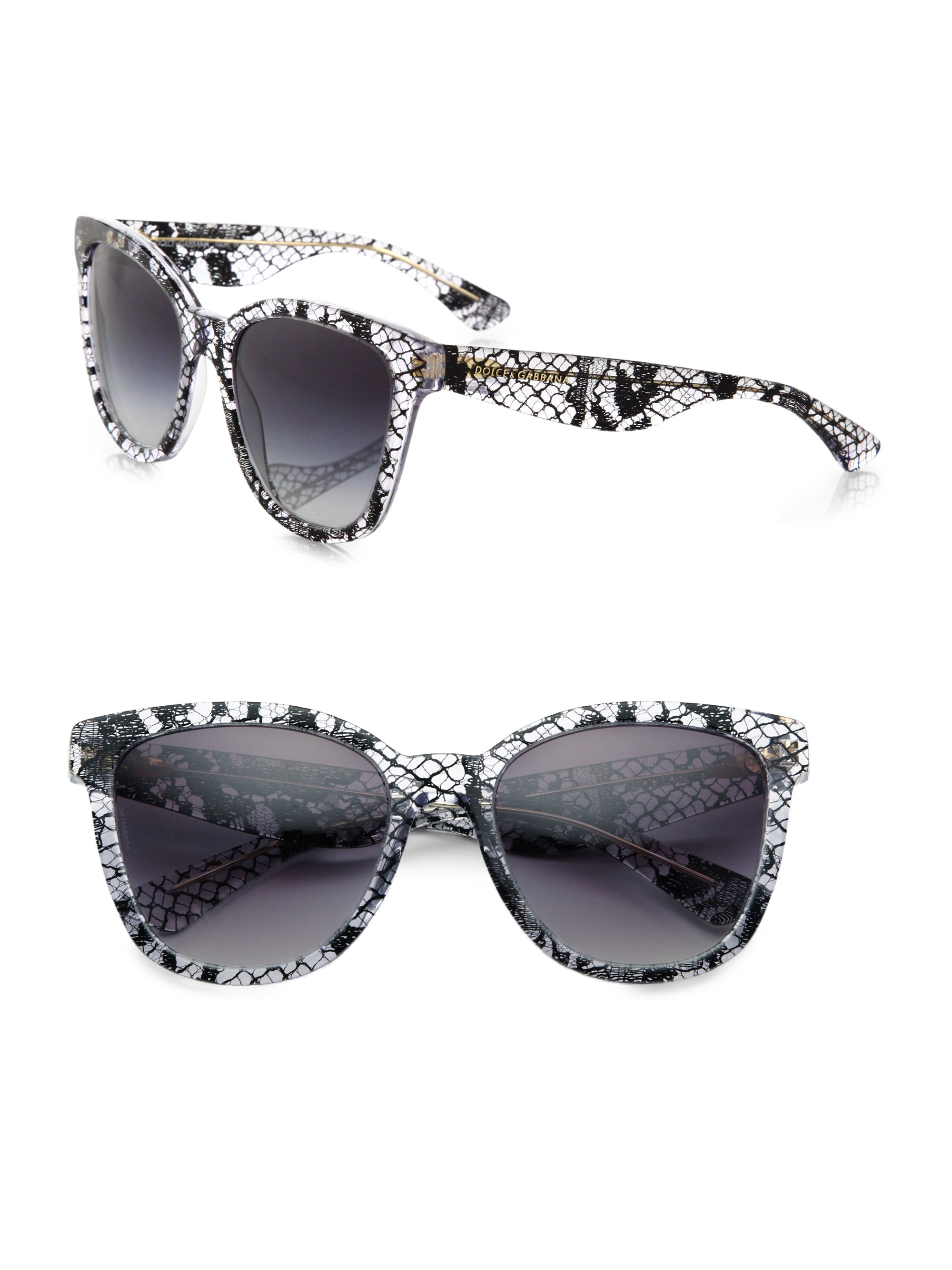 3aa8845ec6a31 Dolce And Gabbana Gold Lace Sunglasses