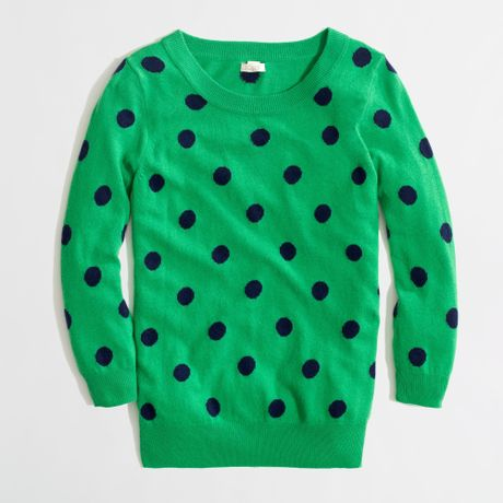 Misses Kelly Green Sweater 30