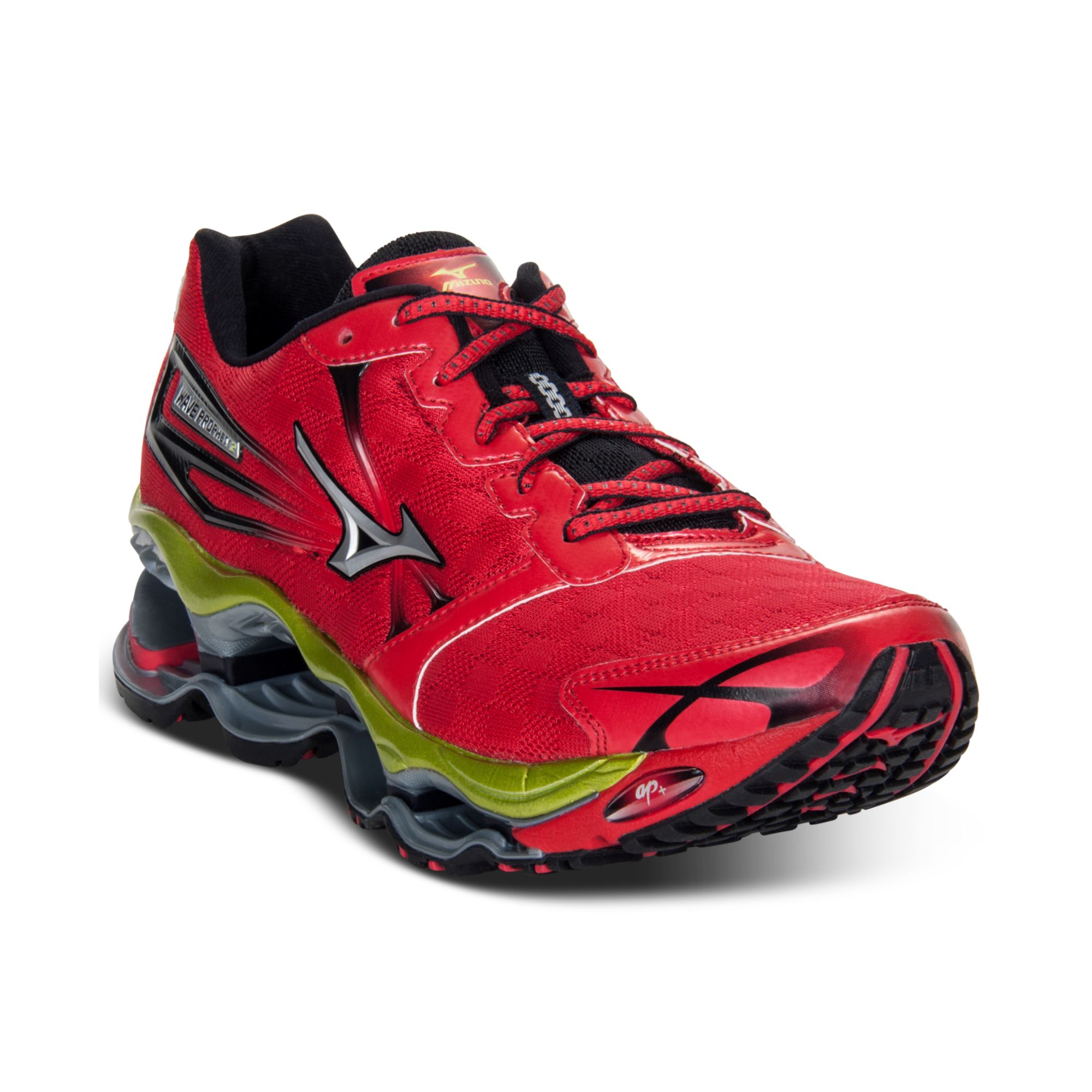 quality design 30cb9 eeed6 Mizuno Red Wave Prophecy 2 Running Sneakers for men