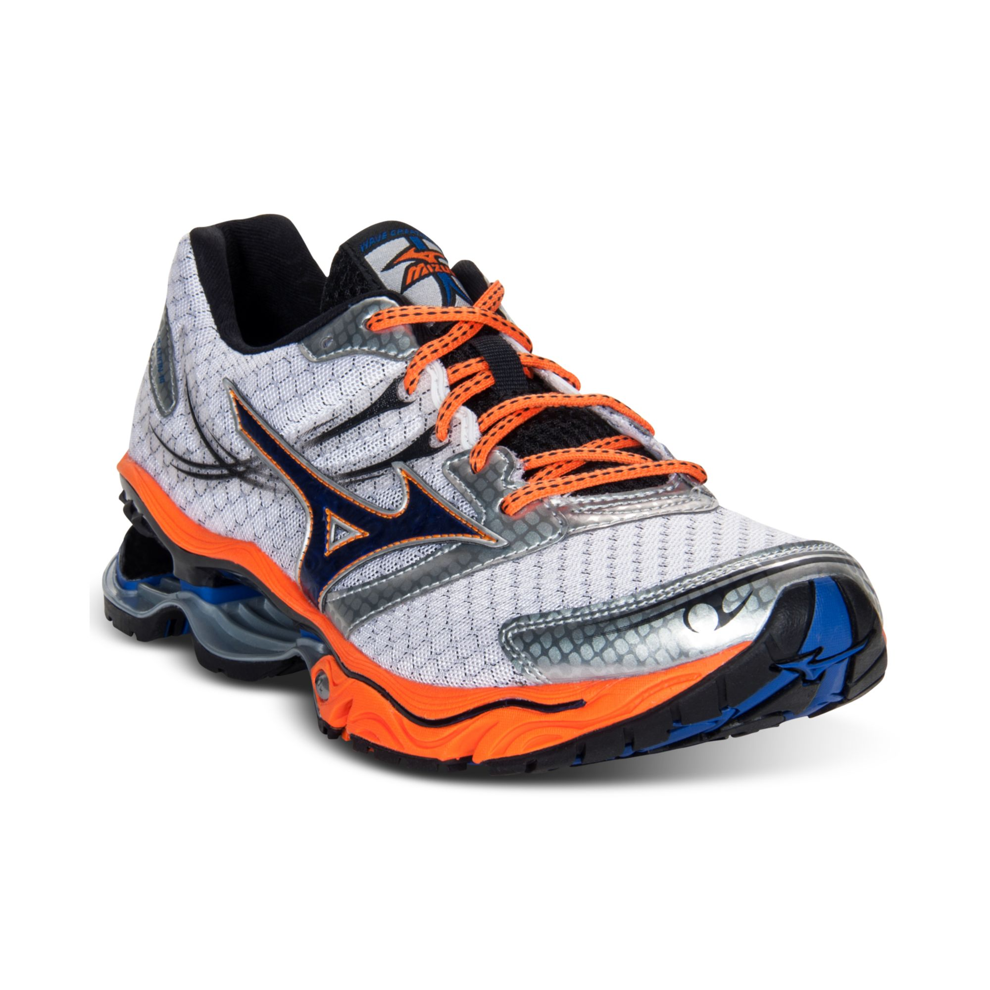 6a4cf8f755 Lyst - Mizuno Wave Creation 14 Running Sneakers in Blue for Men