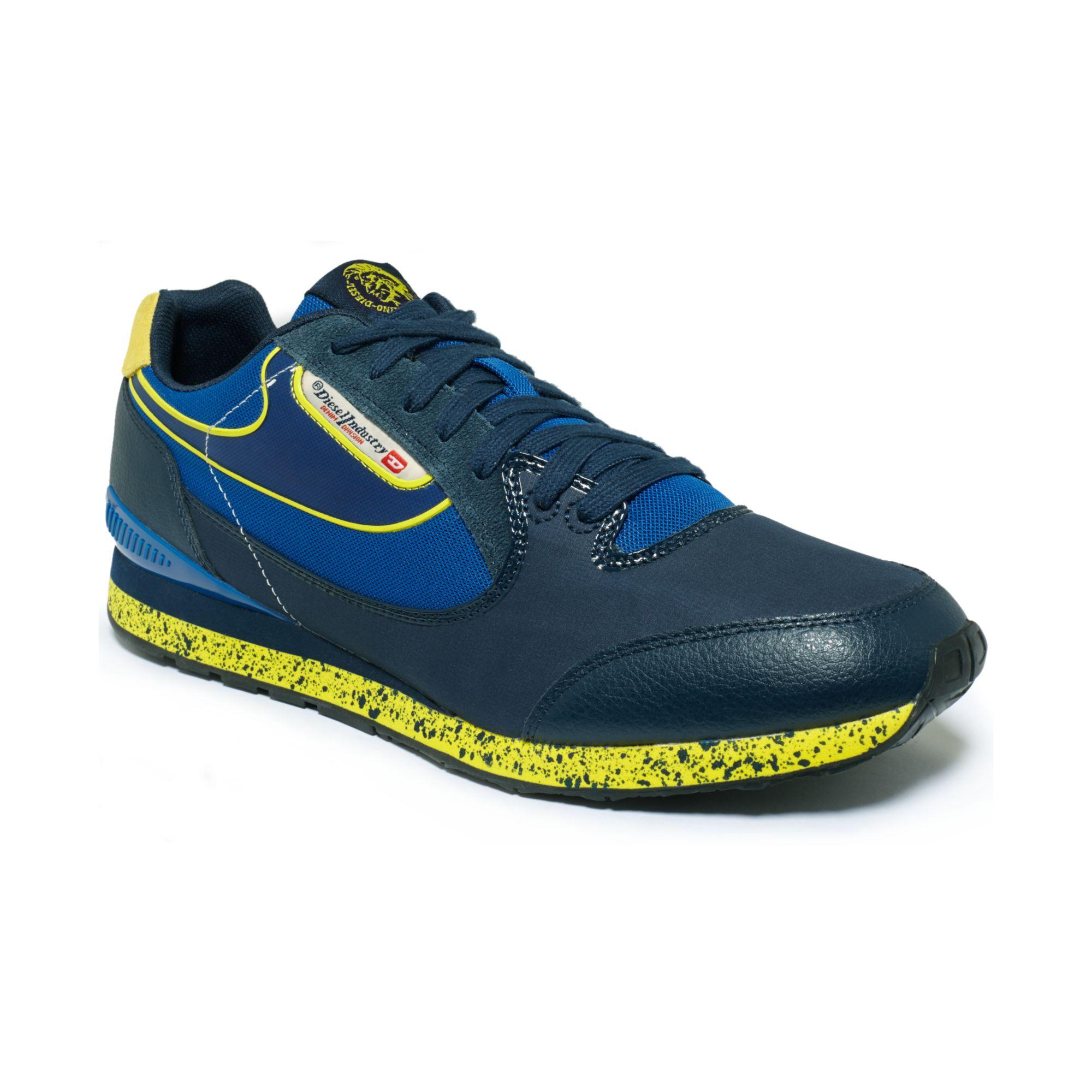Lyst Diesel Raketier Aramis Sneakers In Blue For Men