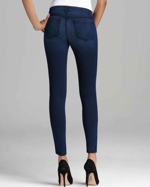 J Brand Jeans 815 Mid Rise Skinny in Brighton in Blue