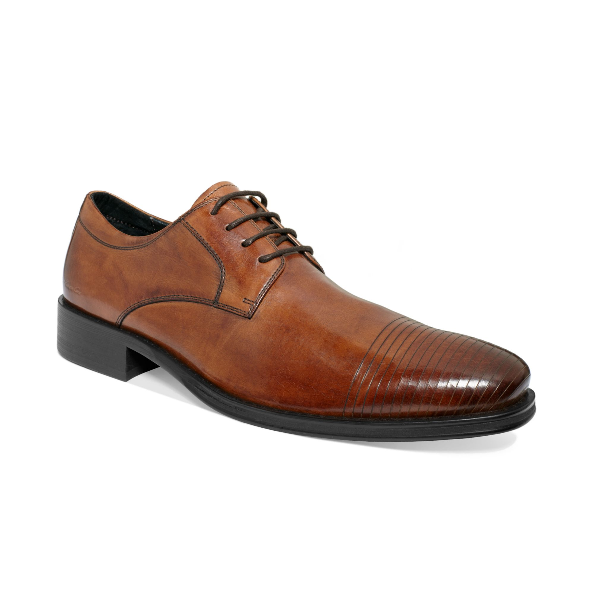 kenneth cole refreshing laceup shoes in brown for