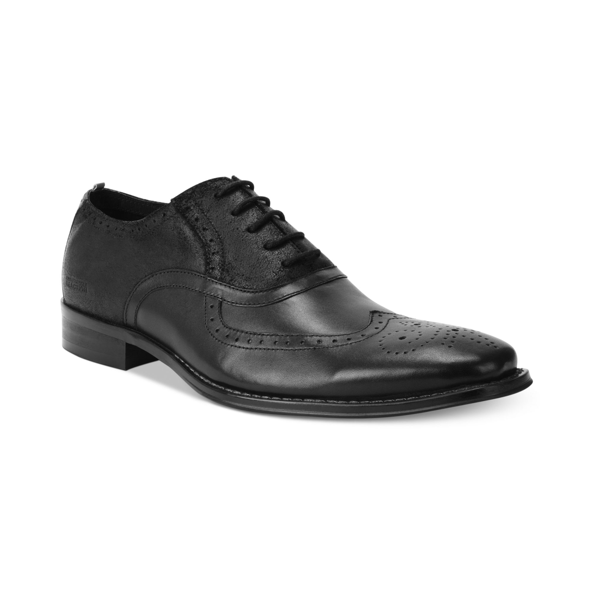 kenneth cole reaction trick play wingtip laceup shoes in