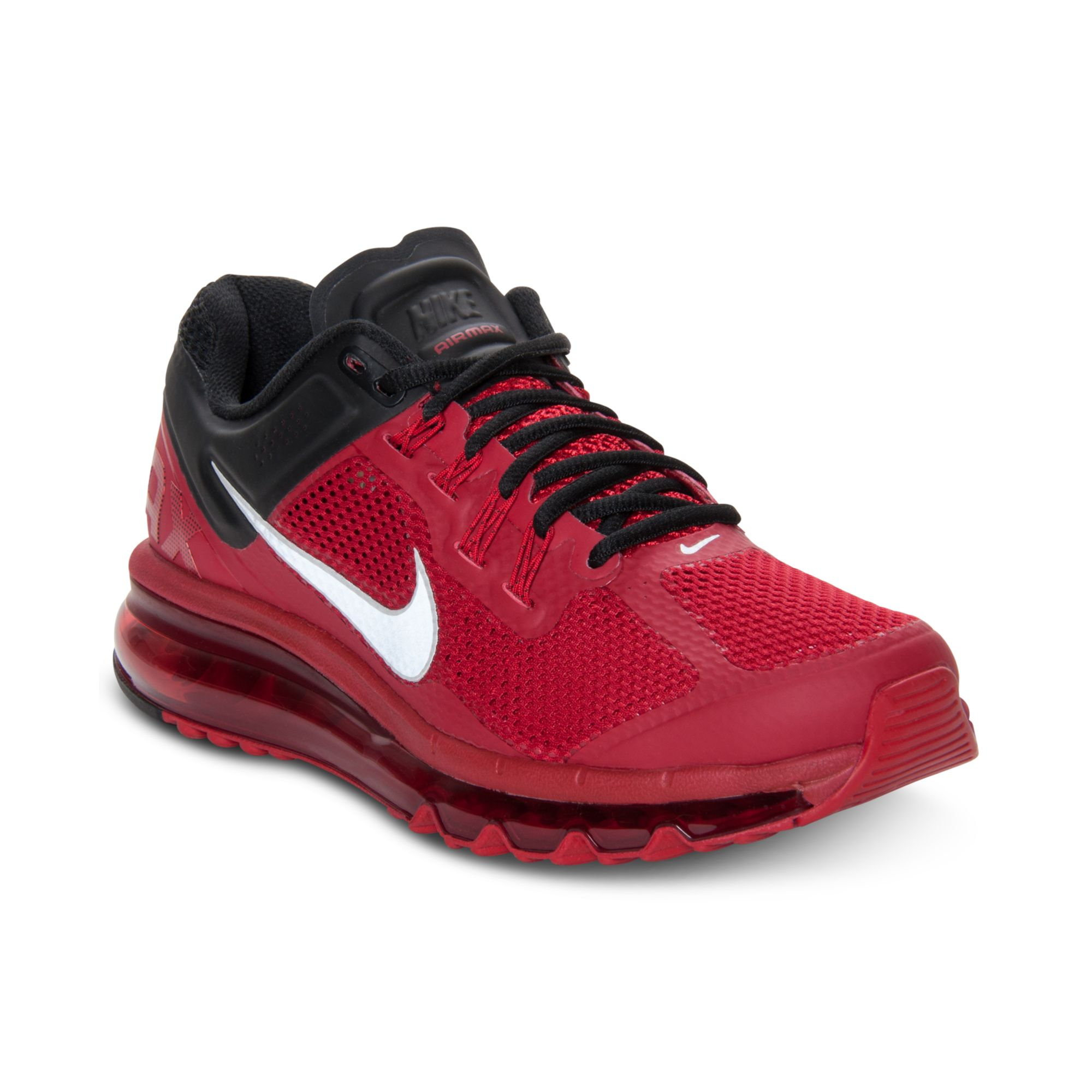 info for 0719c d004d ... best price nike air max running sneakers in red for men gym red  reflective silver lyst
