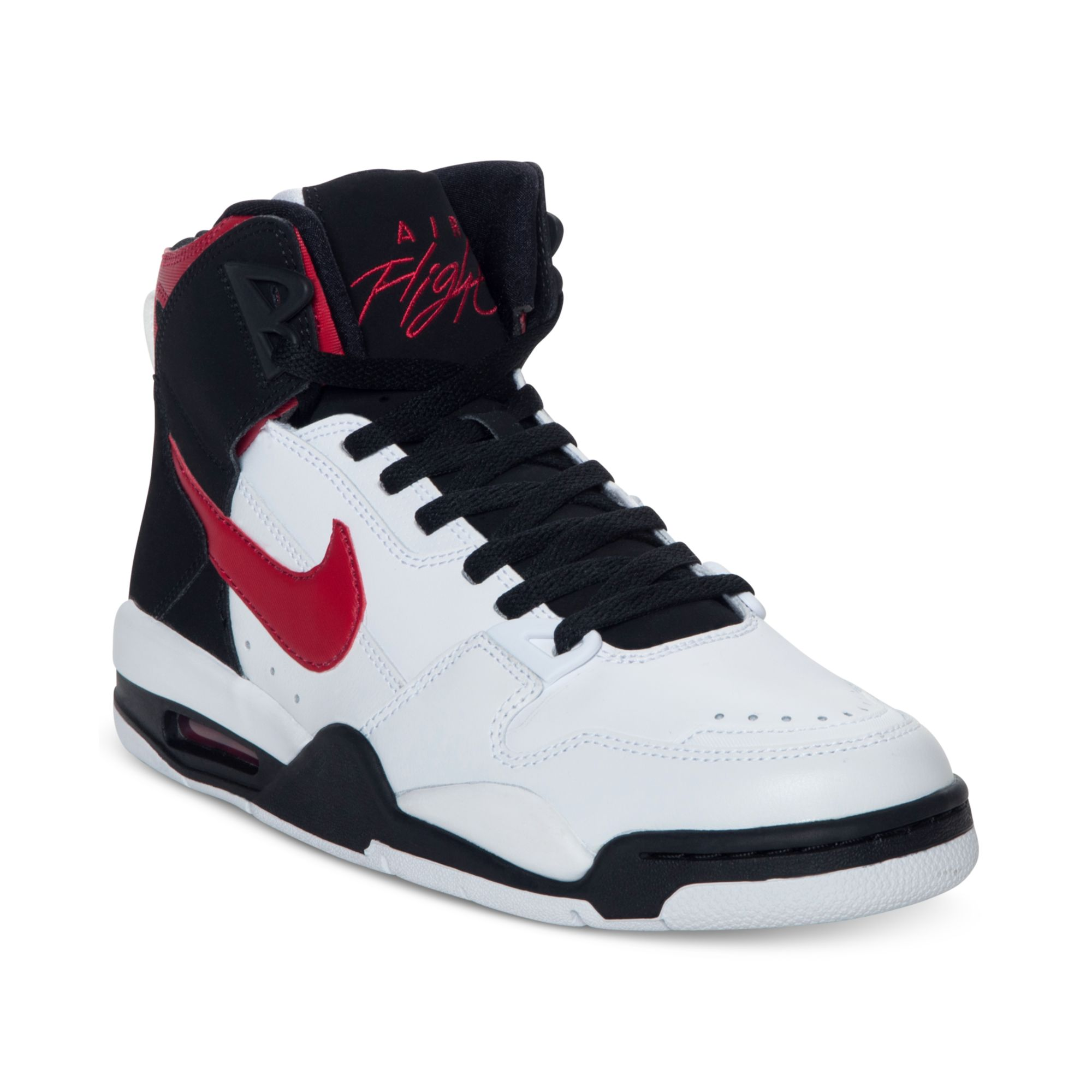 official site fashion styles the best attitude Nike Flight Condor High Si Basketball Sneakers in White for Men - Lyst